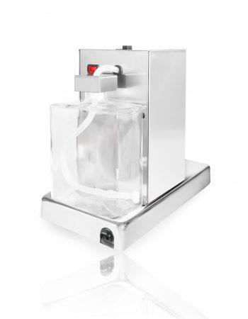 La Piccola Piccola ESE Espressomaschine Siebträger nah