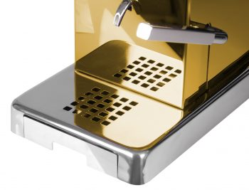 La Piccola Piccola Gold ansicht Schublade Modell 2019 detail ESE Kaffeemaschine