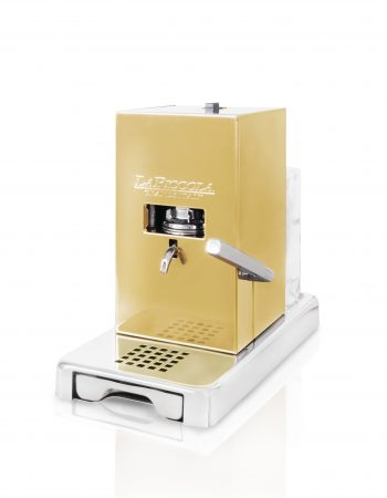 La Piccola Gold ESE Espressomaschine ansicht vorne Modell 2018