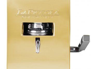 La Piccola Piccola Gold ansicht vorne detail ESE Kaffeemaschine