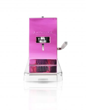 La Piccola Piccola Pink ESE Kaffeemaschine violett front