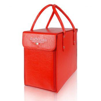 La Piccola Reisetasche Transporttasche tasche rot