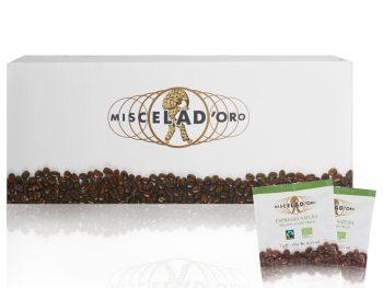 Miscela d Oro Espresso Natura Bio Fairtrade ESE Pads 150 Stück