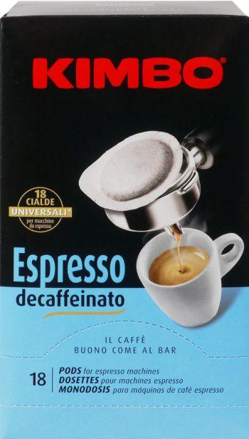 Kimbo Espresso decaffeinato ese cialde entkoffeiniert