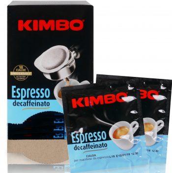Kimbo Espresso decaffeinato ese pads 18 Stück