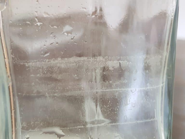 La Piccola entkalken Glasflasche