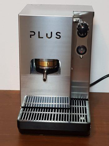 Aroma Plus Edelstahl Silber Standard ESE Pad Maschine