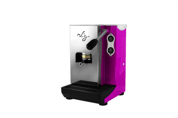 Aroma Plus Pink ese pads Espressomaschine