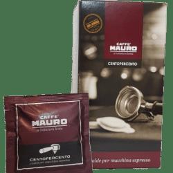 Caffe Mauro Centopercento Box 18 ESE Pad Pod Cialde
