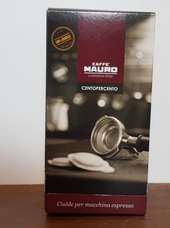 Caffe Mauro Centopercento ESE Pad Pod Cialde Box Vorne