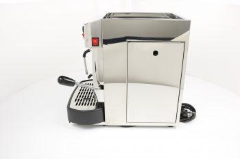 La Piccola Cecilia Inox manuell ESE Pad Espresso