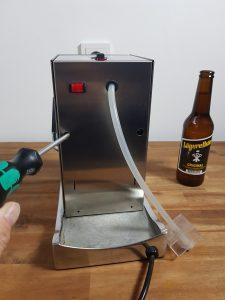 La Piccola Wasserschlauch wechseln Schrauben lösen