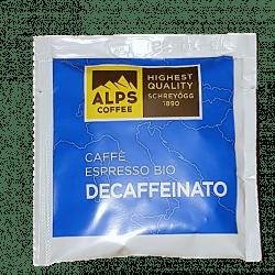Alps Coffee DECAFEINATO Espresso BIO
