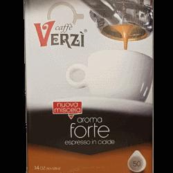 VERZI Caffe Forte ESE Pads Robusta 50