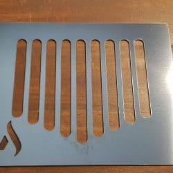 Edelstahl Metall Abtropfgitter Aroma Plus gereinigt
